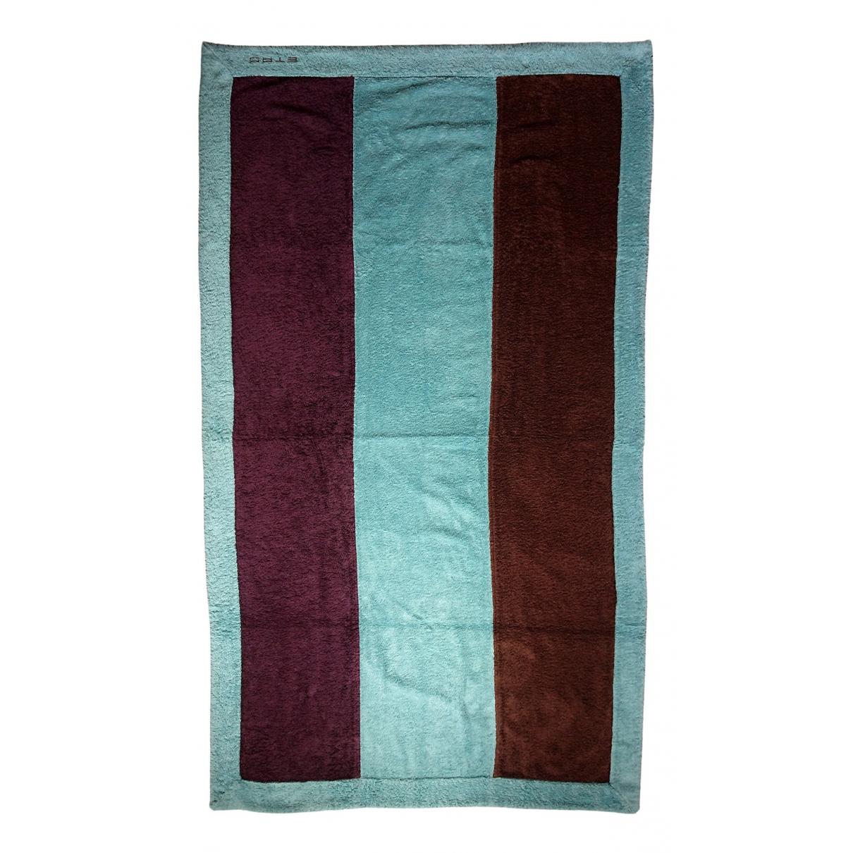 Etro \N Multicolour Cotton Textiles for Life & Living \N
