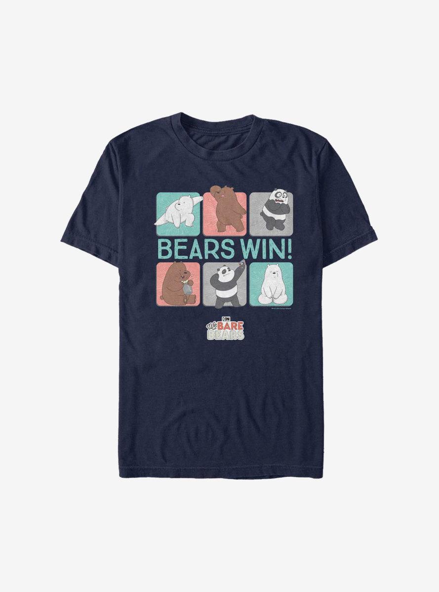 We Bare Bears Win Bears T-Shirt