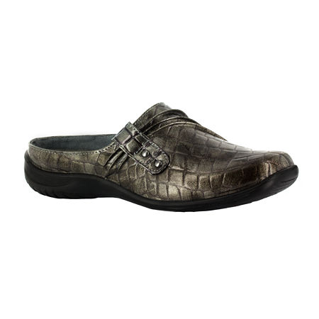 Easy Street Womens Holly Slip-On Shoe, 5 1/2 Medium, Gray