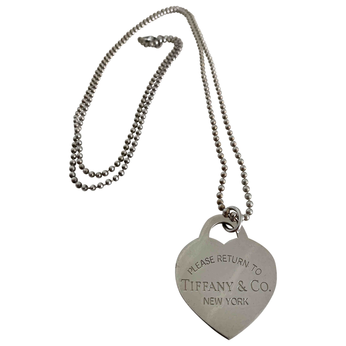 Collar largo Return to Tiffany de Plata Tiffany & Co