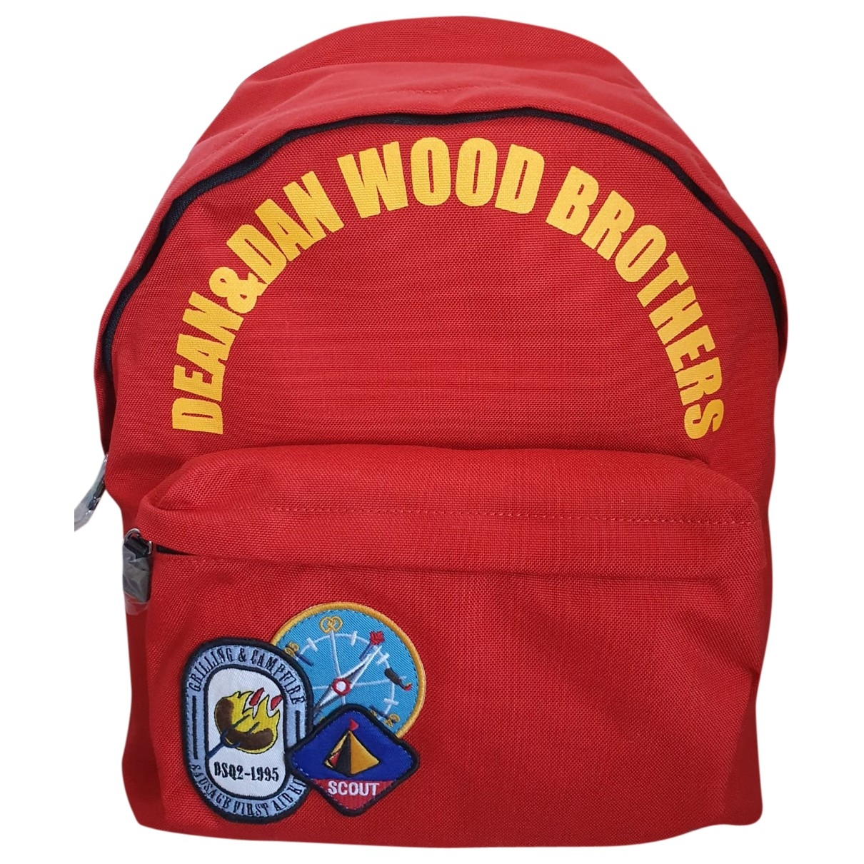 Dsquared2 \N Red Cloth bag for Men \N