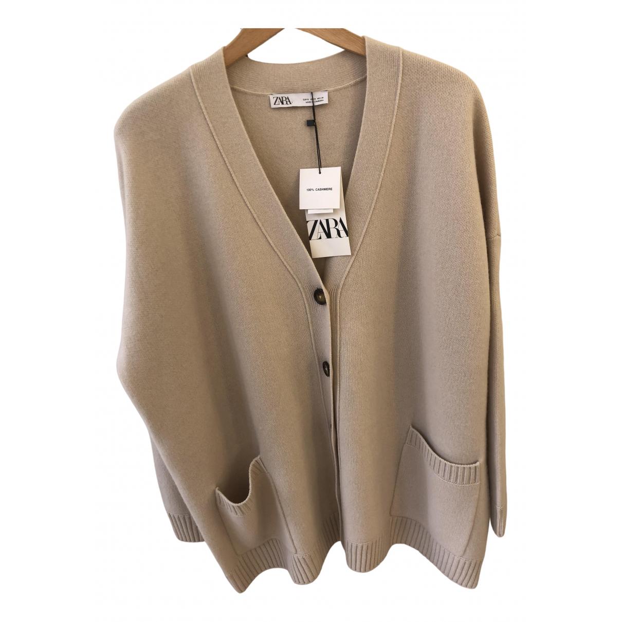 Zara \N Pullover in  Beige Kaschmir
