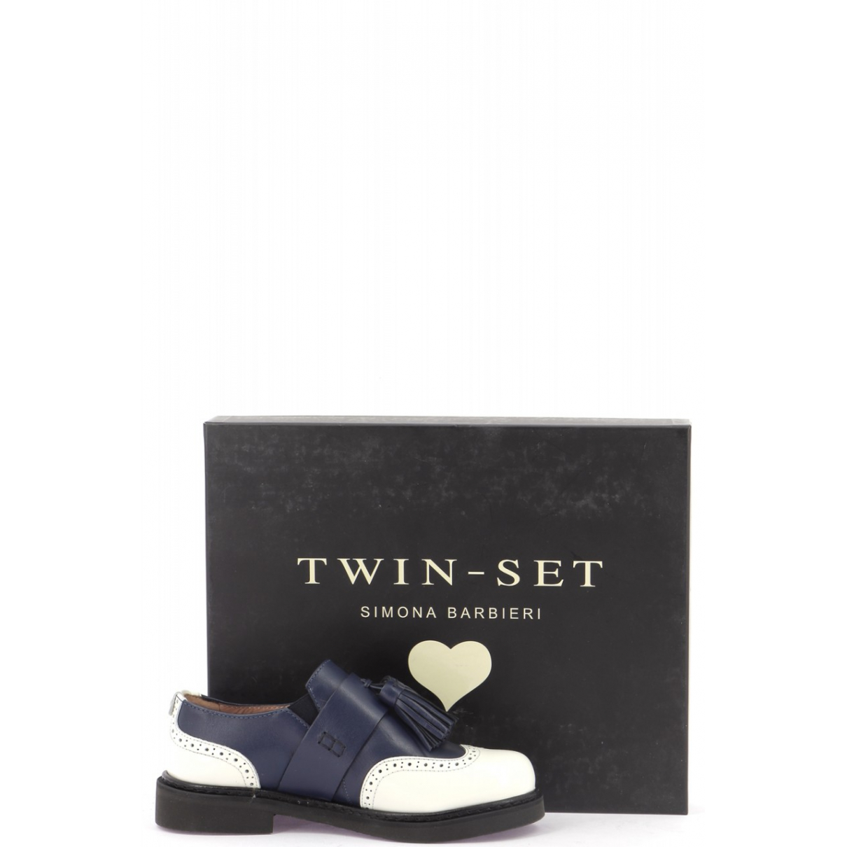 Derbis de Cuero Twin Set