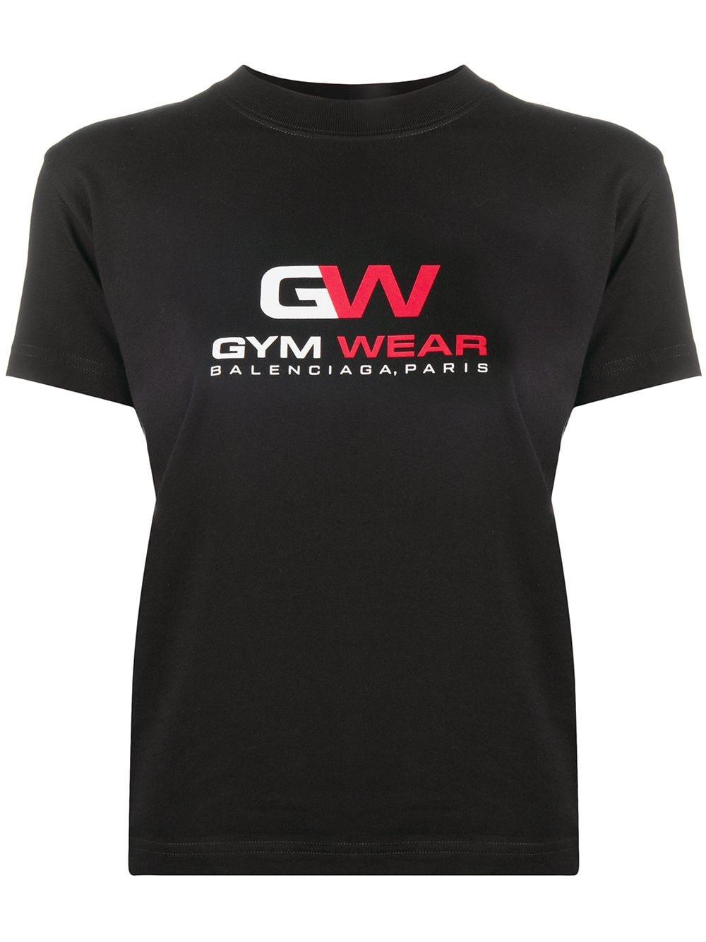 Gym Logo Cotton T-shirt