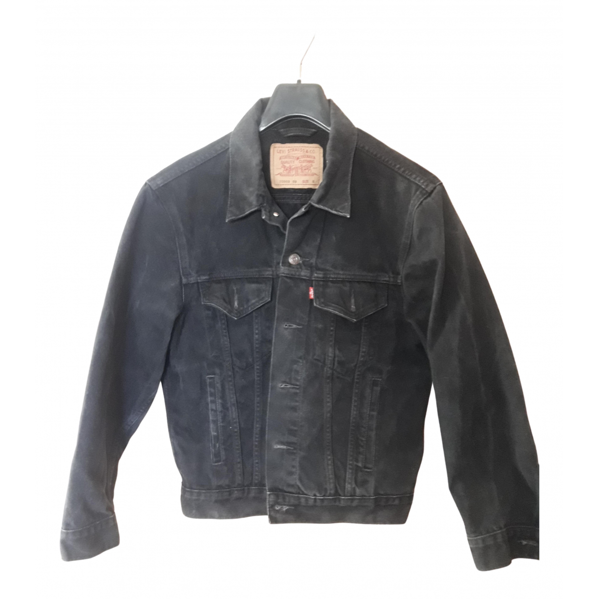 Levi's \N Black Denim - Jeans jacket for Women S International