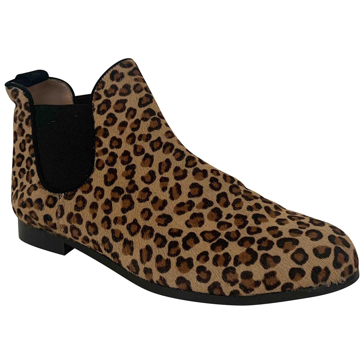 Parosh - Boots   pour femme en veau facon poulain