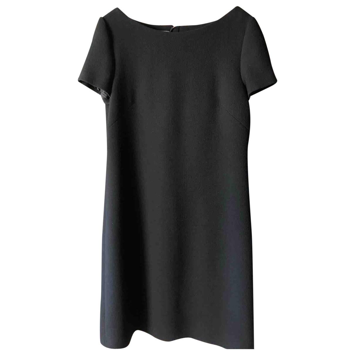Prada \N Black Wool dress for Women 46 IT