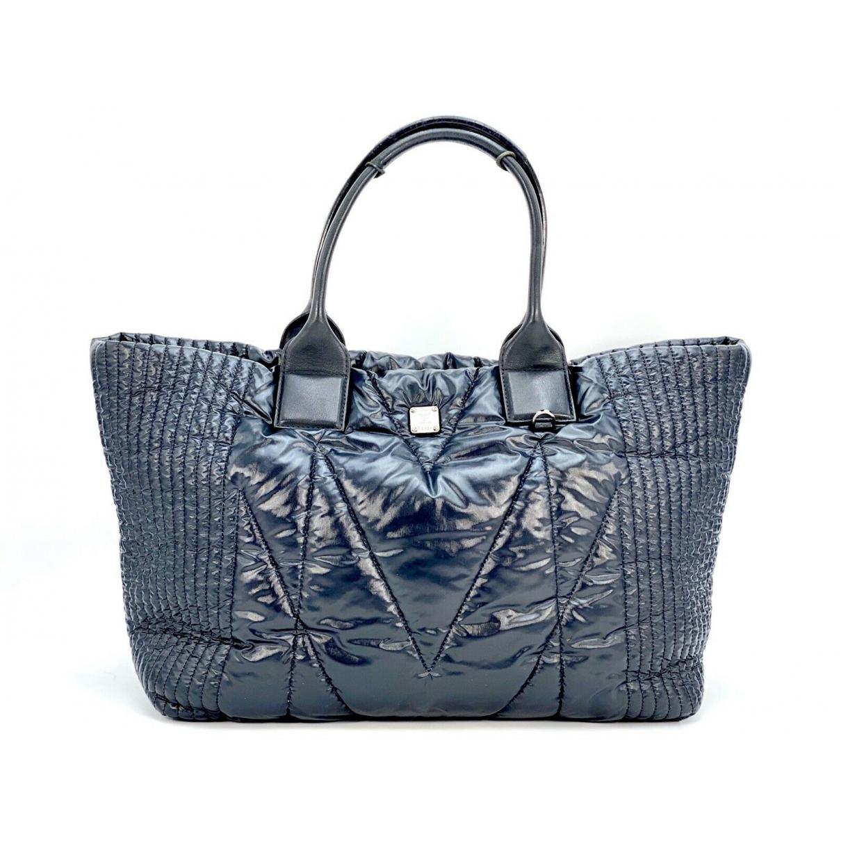 Mcm \N Black handbag for Women \N