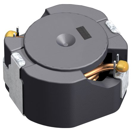 TDK , CLF-NI-D Shielded Wire-wound SMD Inductor with a Ferrite Core, 470 μH ±20% Wire-Wound 410 (Saturation) mA, 460 (10)