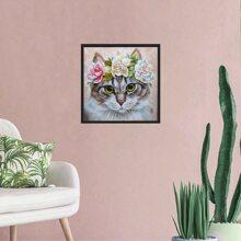 Cat Print Diamond Painting