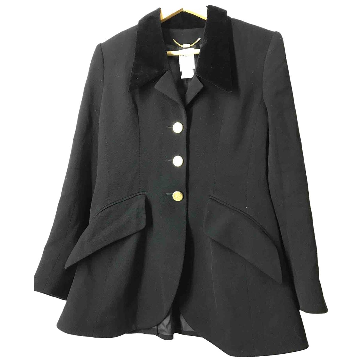 Celine - Veste   pour femme en laine - noir