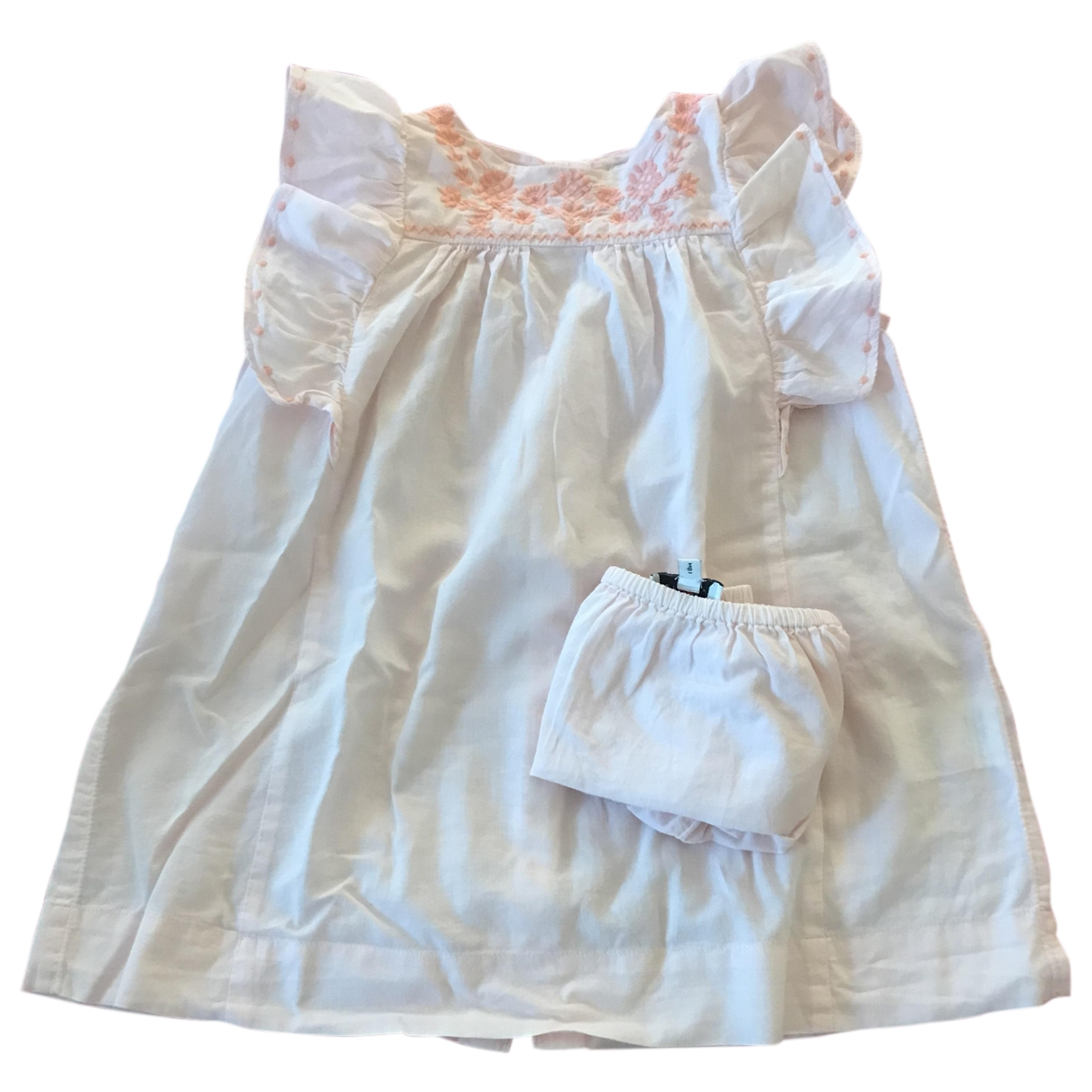 Cyrillus \N Kleid in  Rosa Baumwolle
