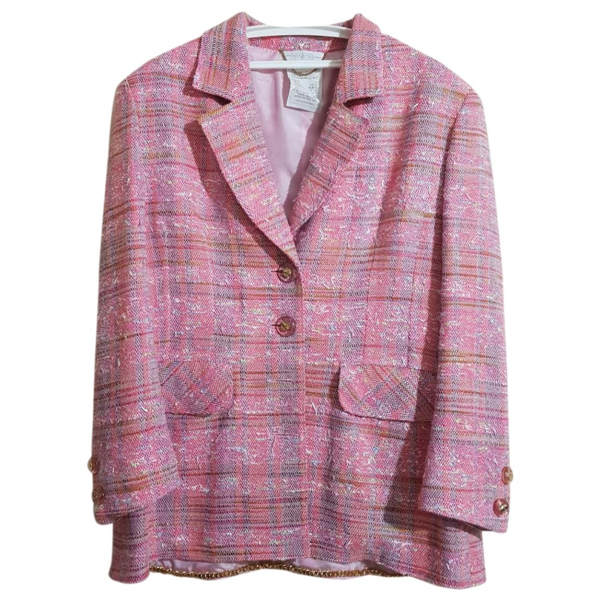 Non Signé / Unsigned \N Multicolour Tweed jacket for Women XL International
