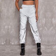 Hose mit elastischer Taille