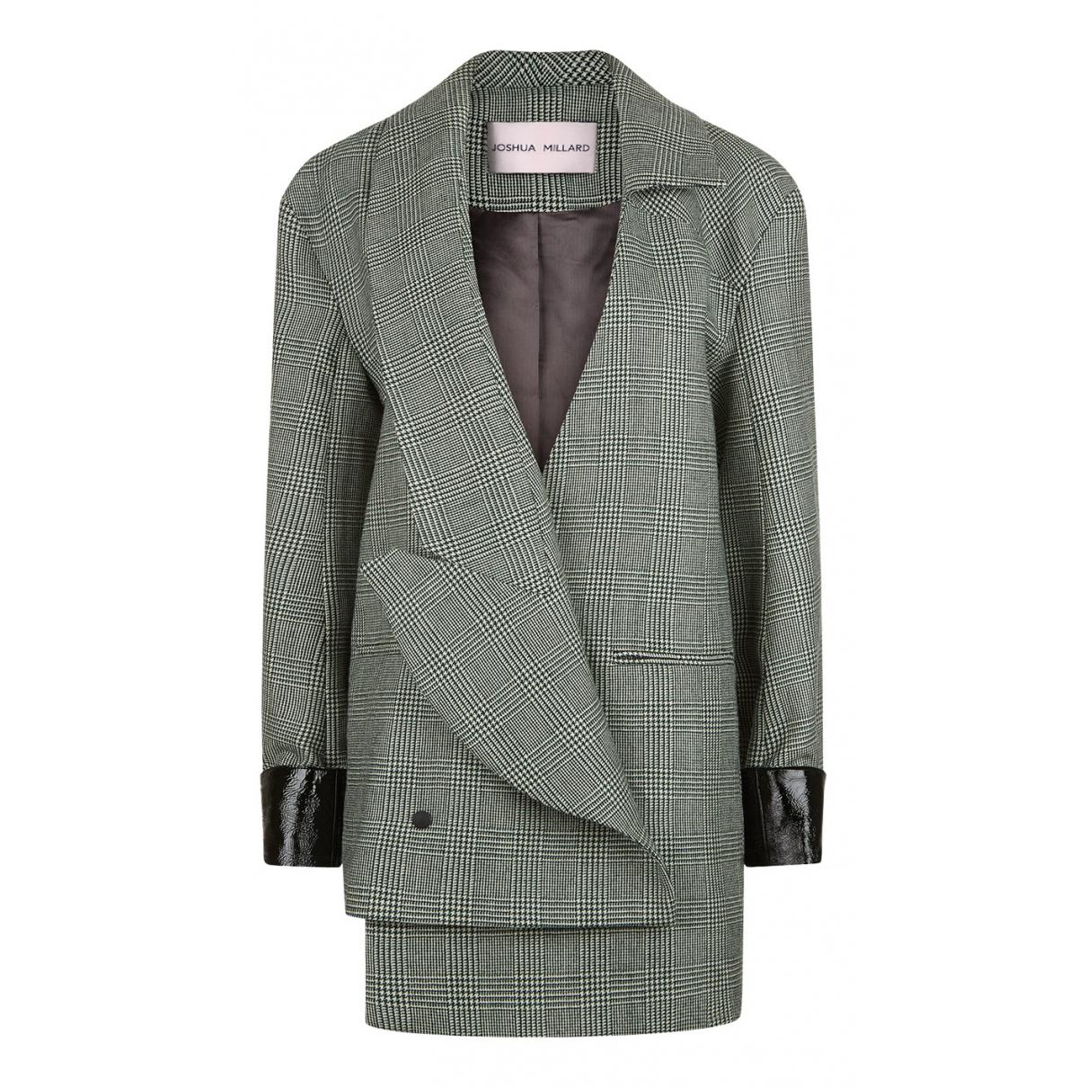 Joshua Millard \N Green Wool jacket for Women 8 UK