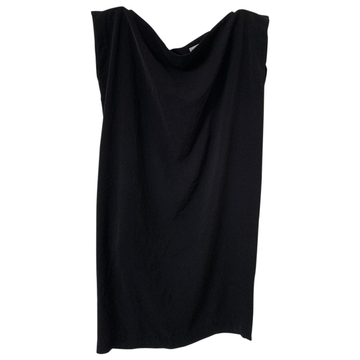 Humanoid \N Kleid in  Schwarz Polyester