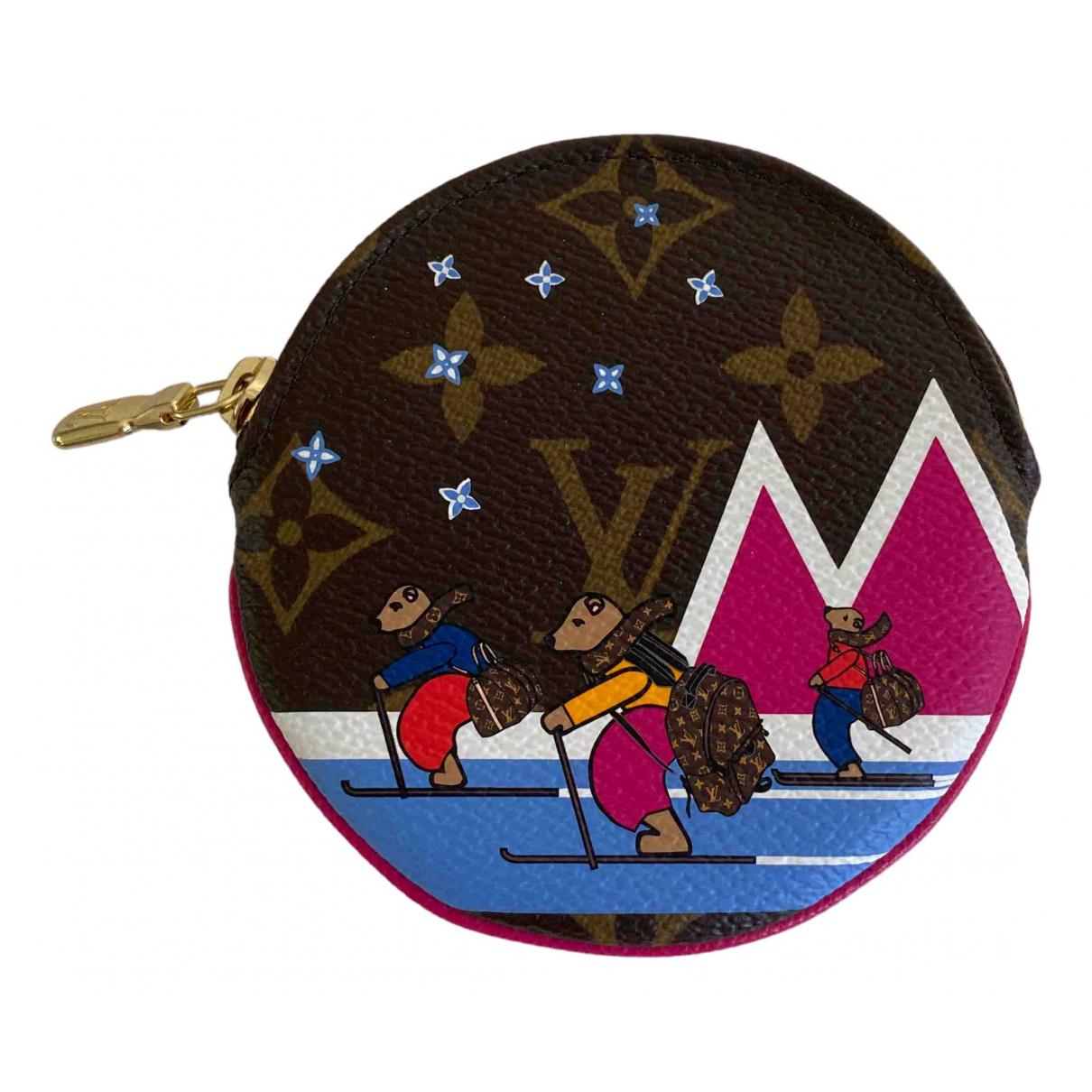 Louis Vuitton N Brown Cloth Purses, wallet & cases for Women N