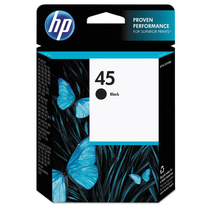 HP 45 51645A cartouche d'encre originale noire