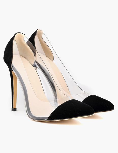 Milanoo Zapatos de tacon alto de tacon de aguja de las mujeres de los tacones altos de las mujeres