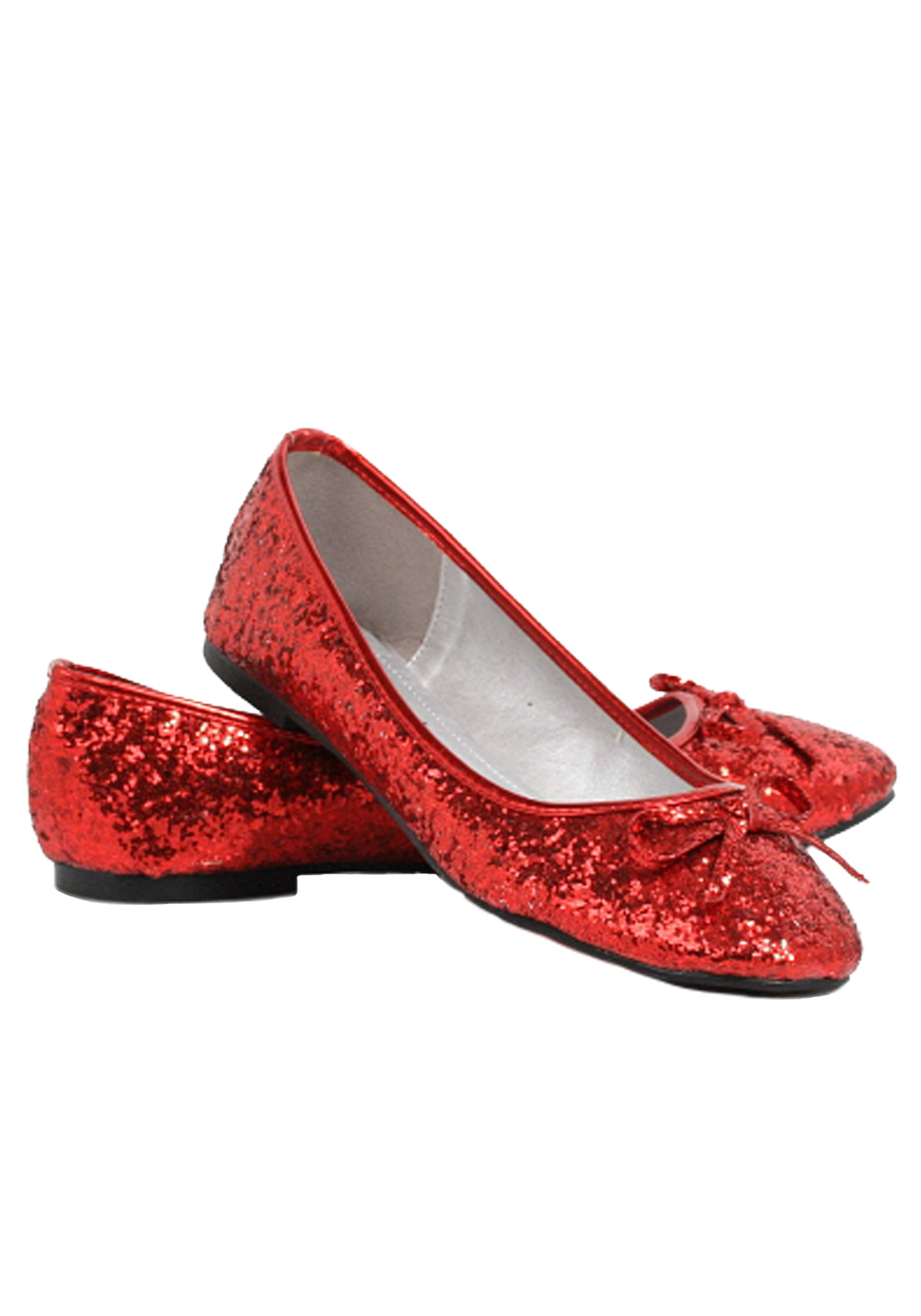 Women's Red Glitter Flats | Red Sparkly Shoes | Women's Shoes