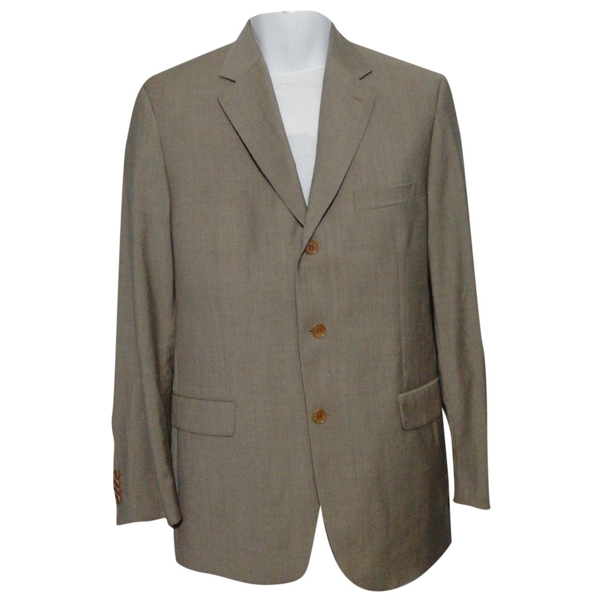 Cerruti - Vestes.Blousons   pour homme en laine - gris