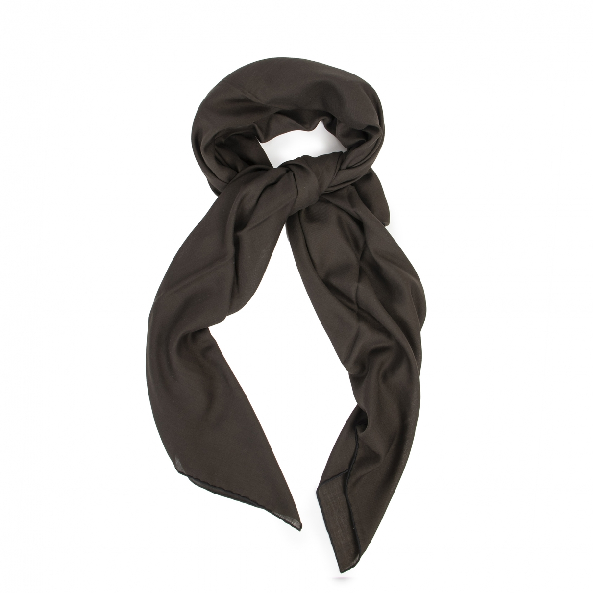 Hermès \N Brown Wool scarf for Women \N