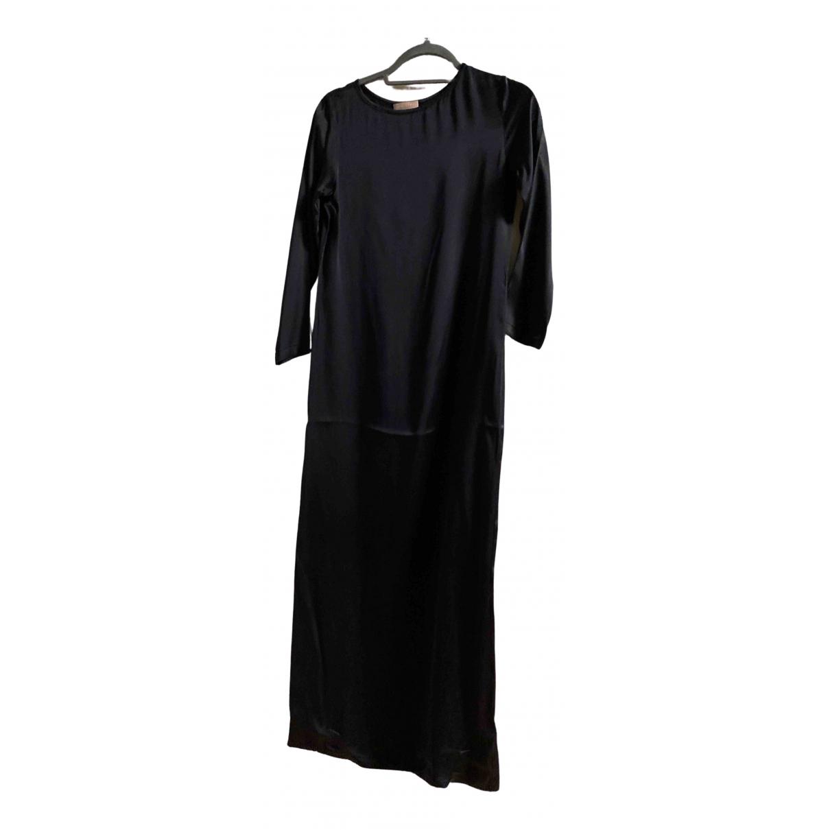 Ohne Titel - Robe   pour femme en soie - noir