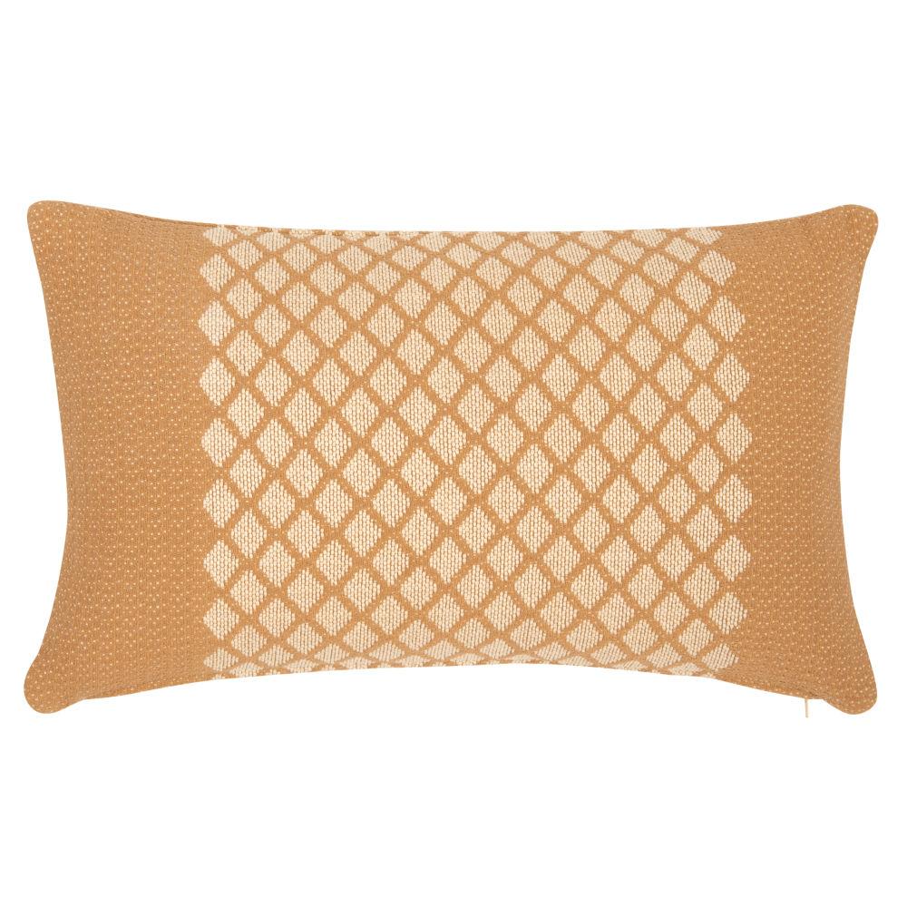 Kissenbezug aus Webbaumwolle, beige 30x50
