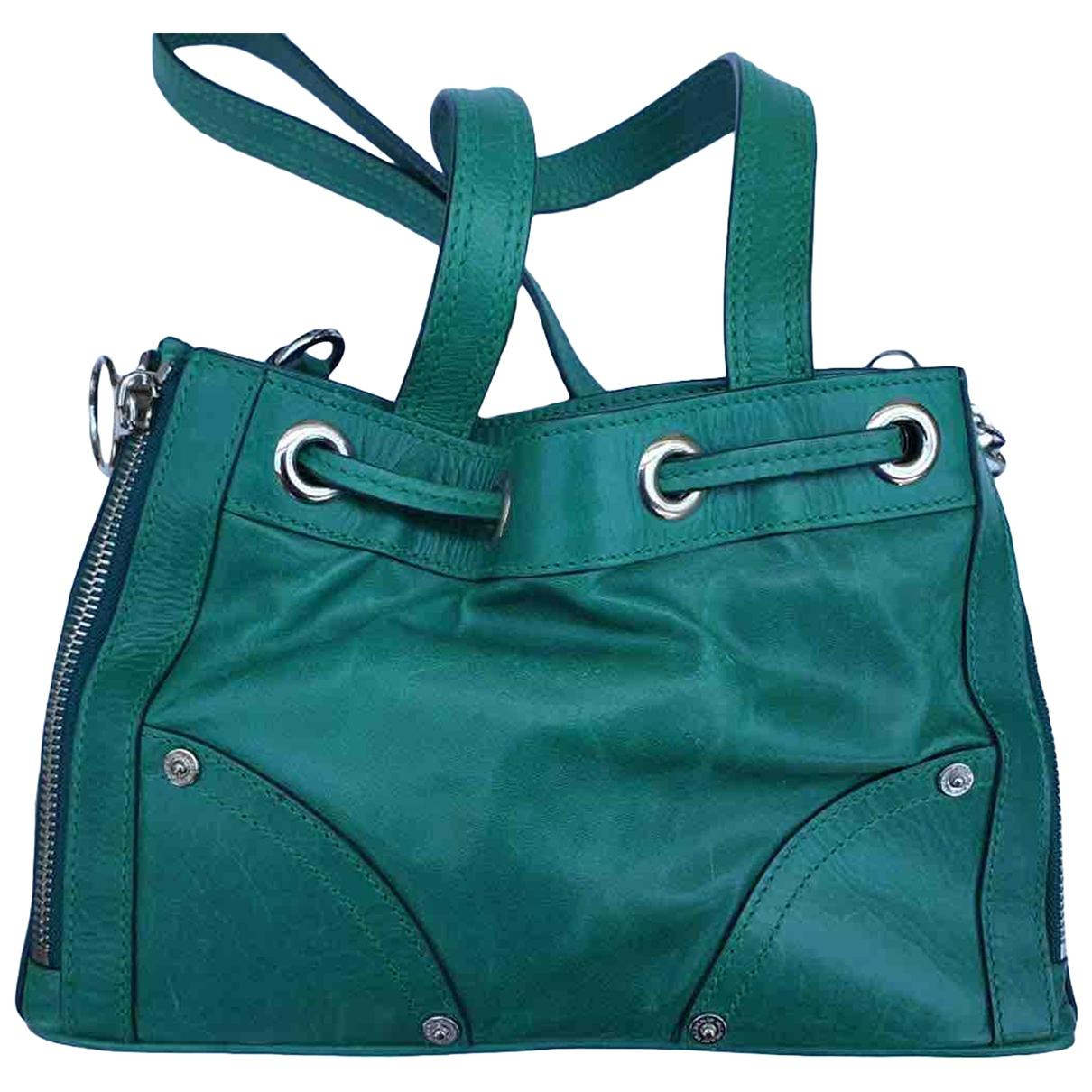 Mulberry \N Green Leather handbag for Women \N