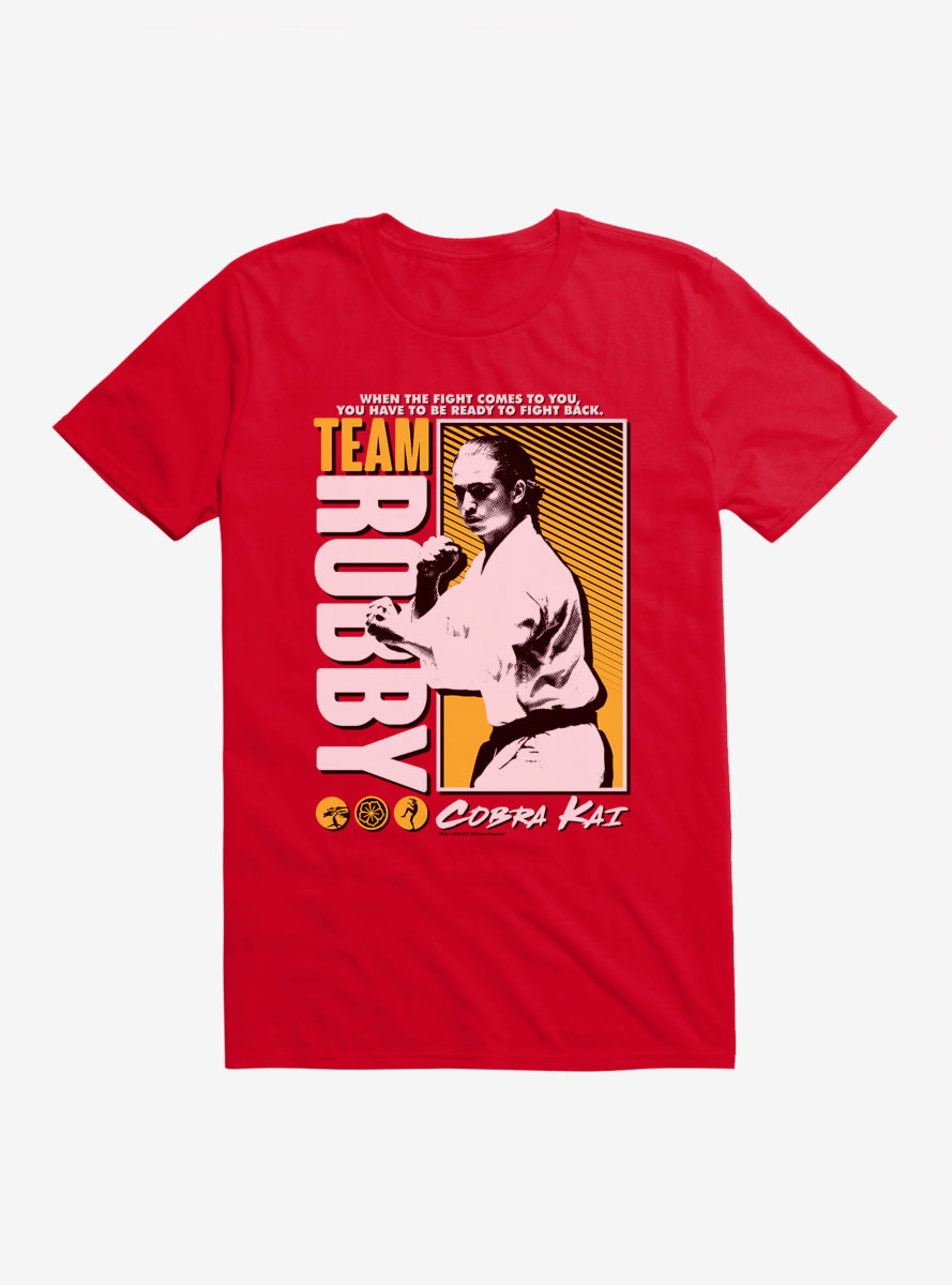 Cobra Kai Team Robby T-Shirt