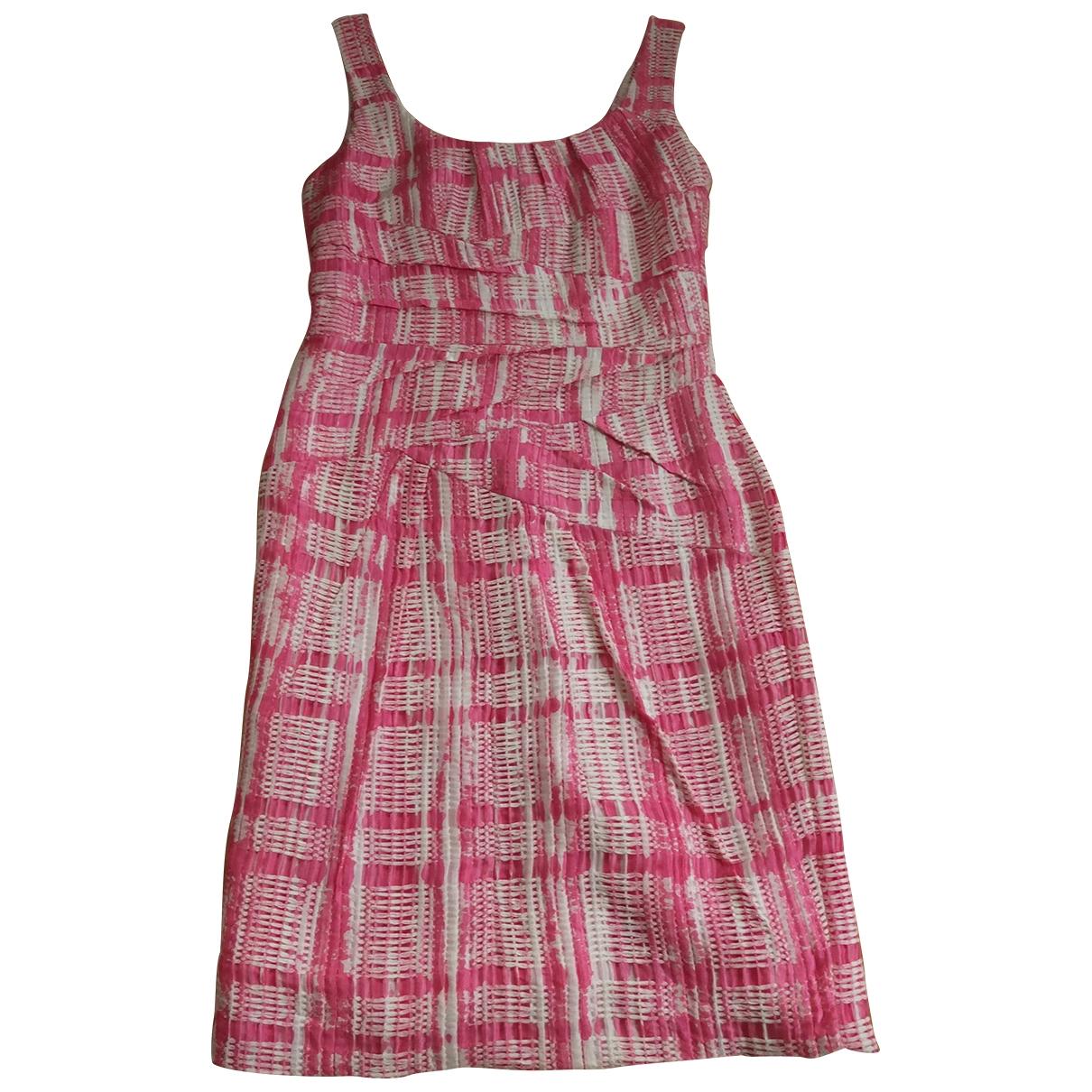 Oscar De La Renta \N Kleid in  Bunt Baumwolle