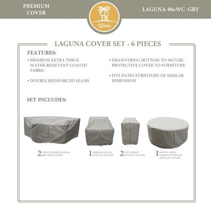 LAGUNA-06cWC-GRY Protective Cover Set  for LAGUNA-06c in