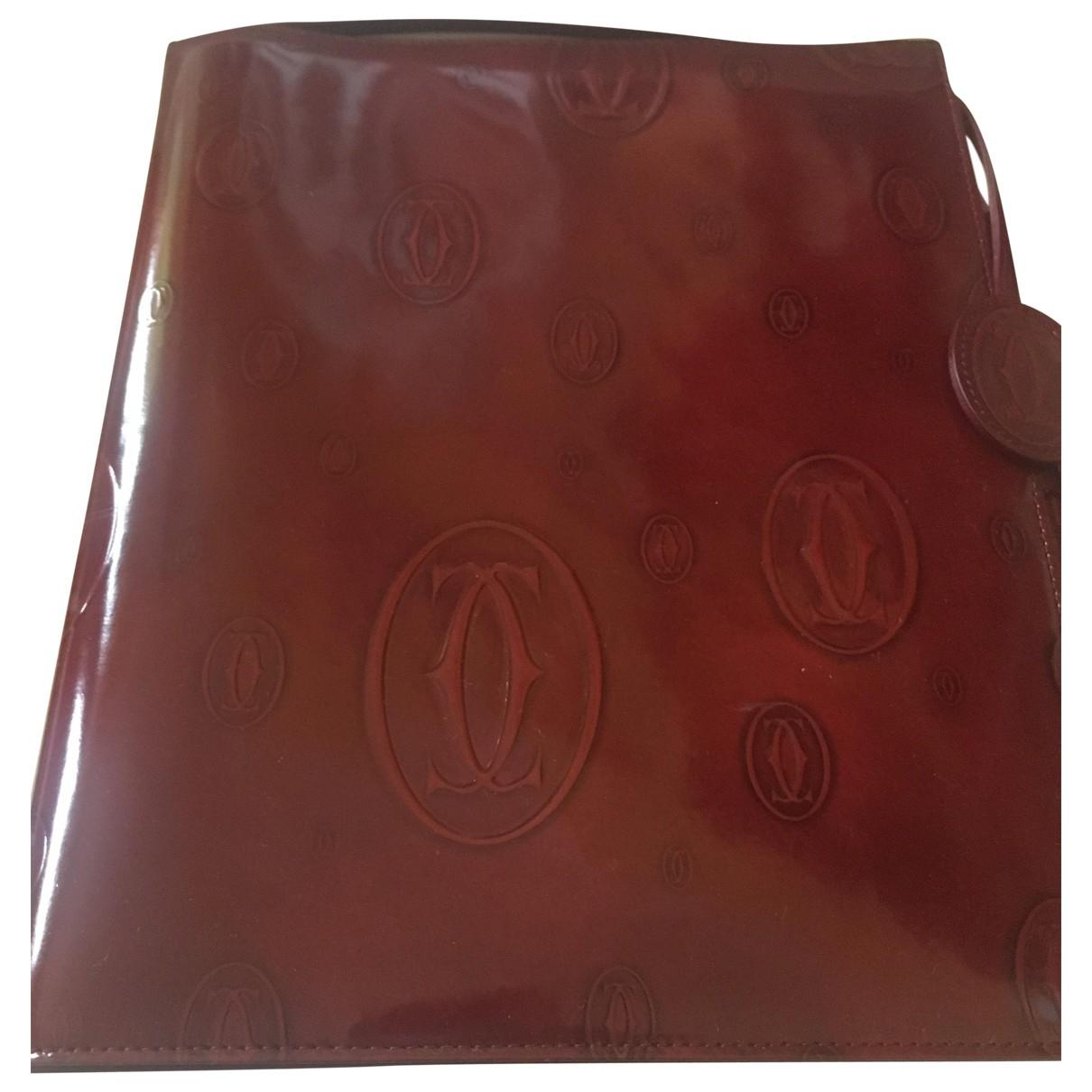 Cuaderno de Cuero Cartier