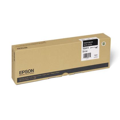Epson T591100 Original Photo Black UltraChrome Ink Cartridge