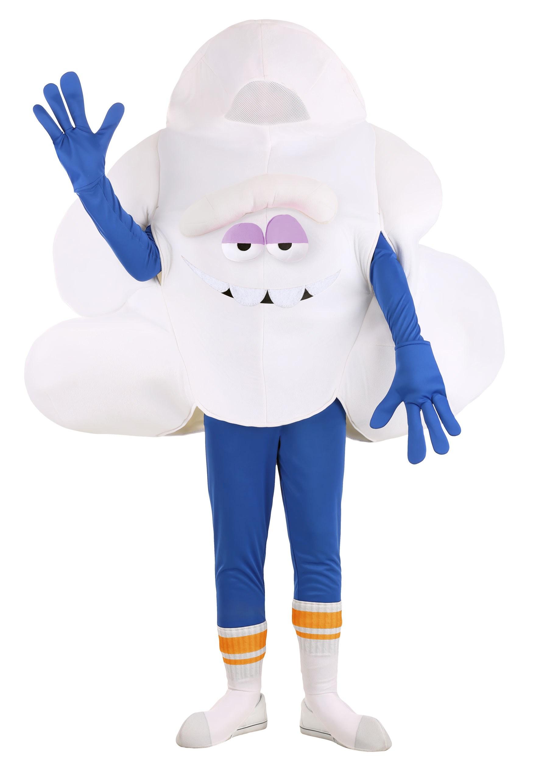 Trolls Adults Dreamy Guy Cloud Costume