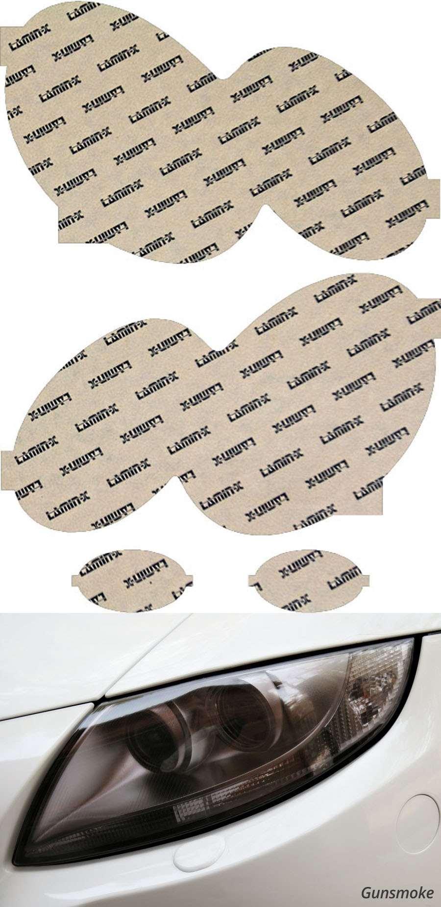 Mercedes SL-Class 07-08 Gunsmoke Headlight Covers Lamin-X MB021G