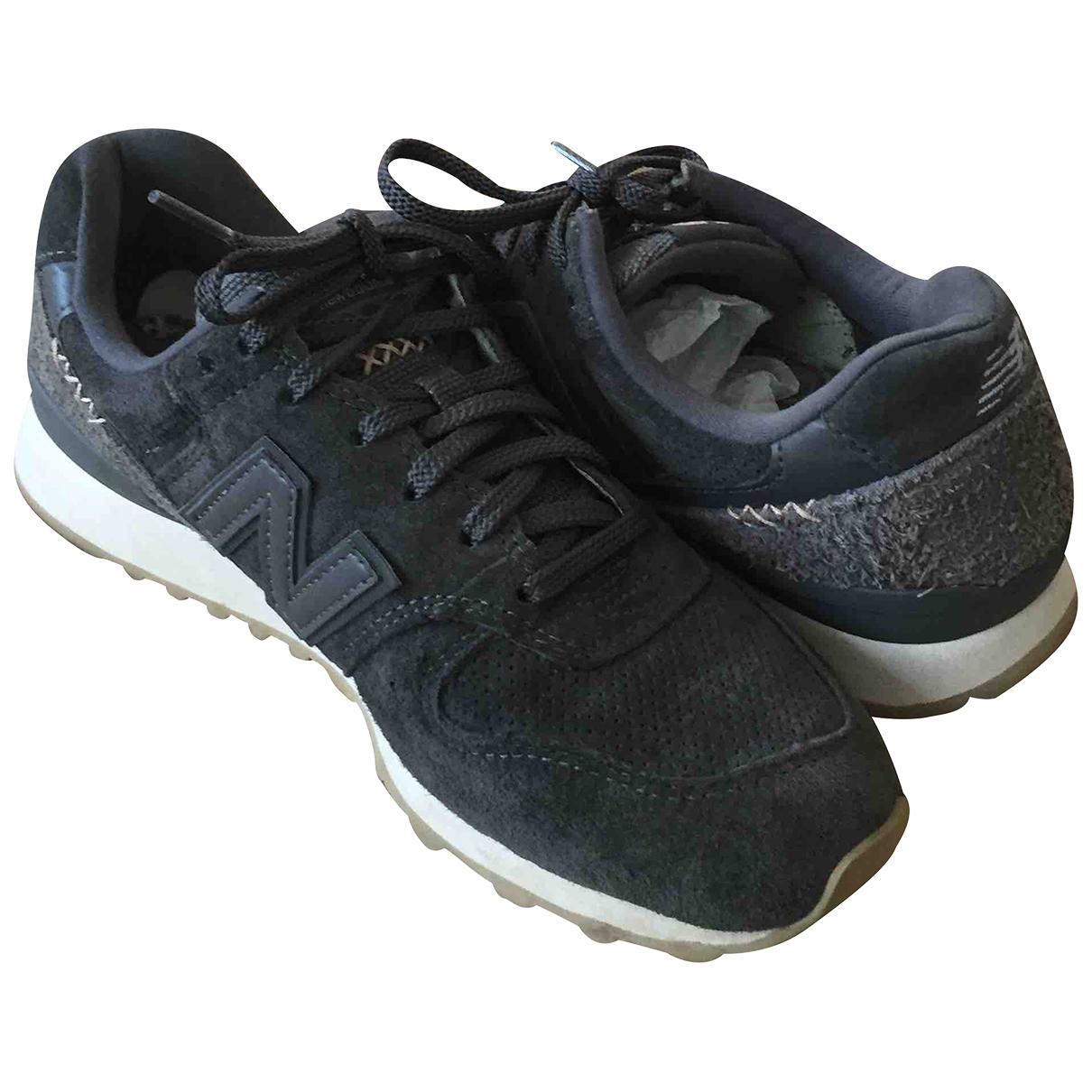 New Balance \N Sneakers in  Anthrazit Veloursleder
