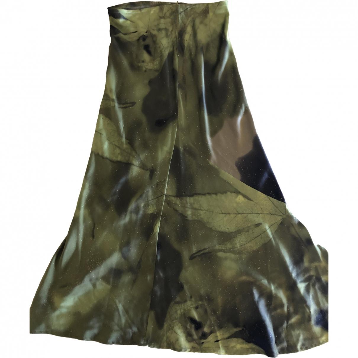 Roberto Cavalli \N Multicolour Silk skirt for Women 42 IT