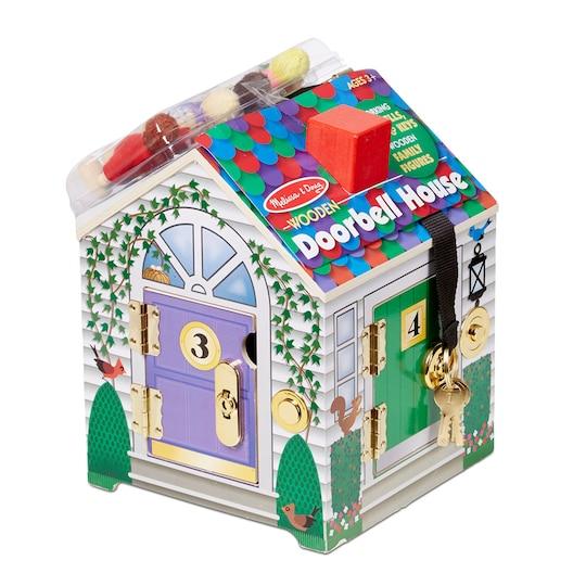 Melissa & Doug® Wooden Doorbell House | Michaels®