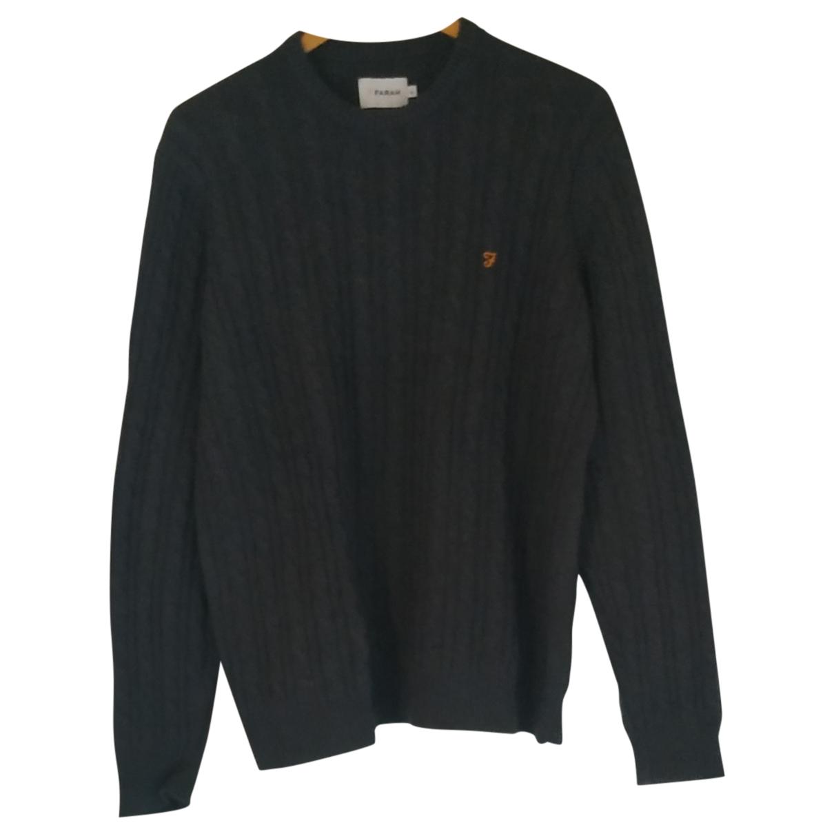 Farah \N Pullover.Westen.Sweatshirts  in  Grau Baumwolle
