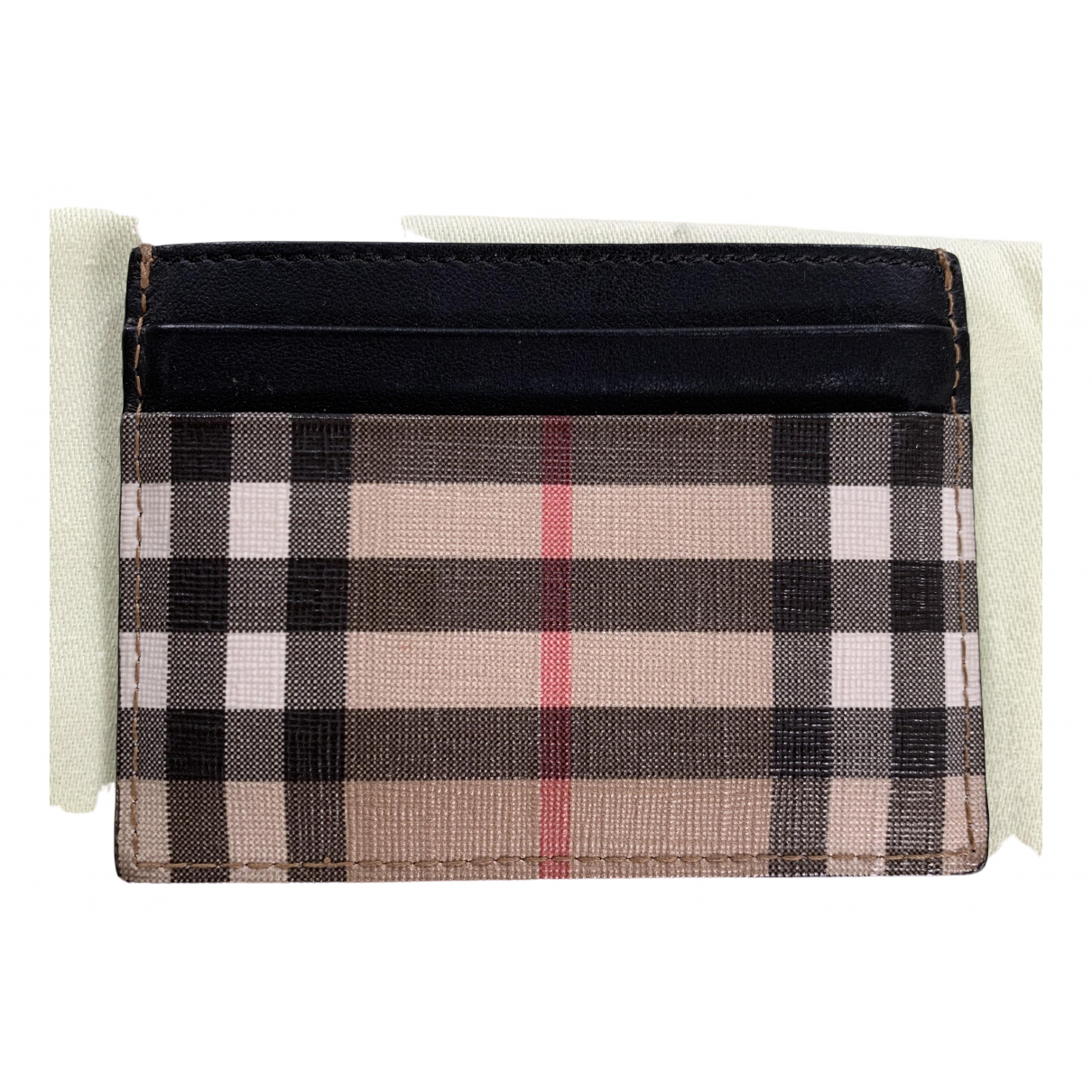 Burberry \N Leather Purses, wallet & cases for Women \N