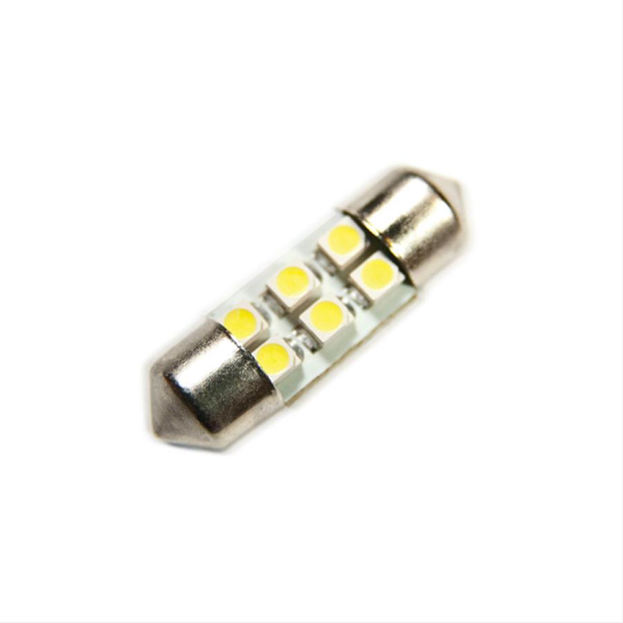 Oracle Lighting 5201-005 ORACLE 31MM 6 LED SMD Festoon Bulbs (Pair) - Amber