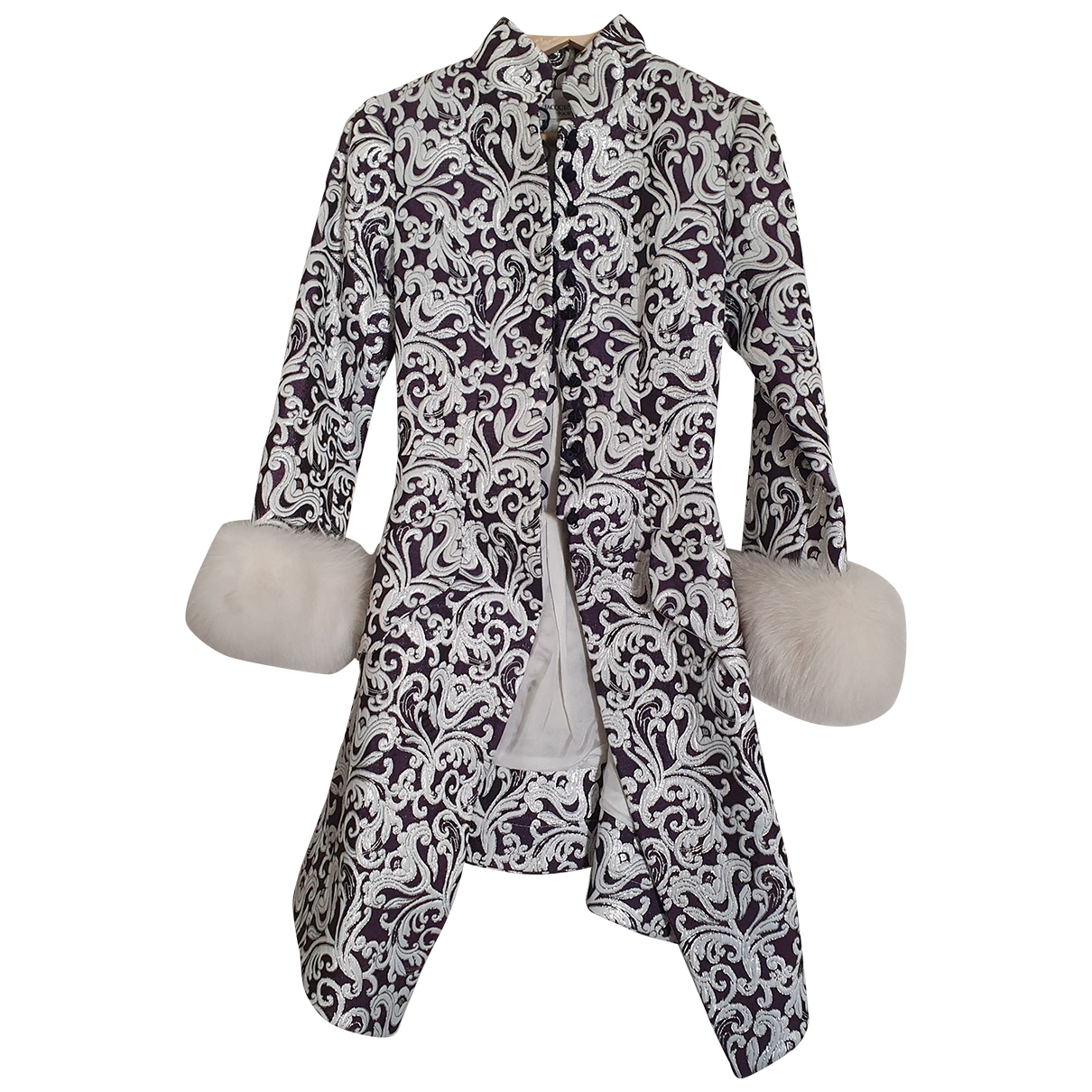 Jacques Fath \N Jacke in  Weiss Polyester