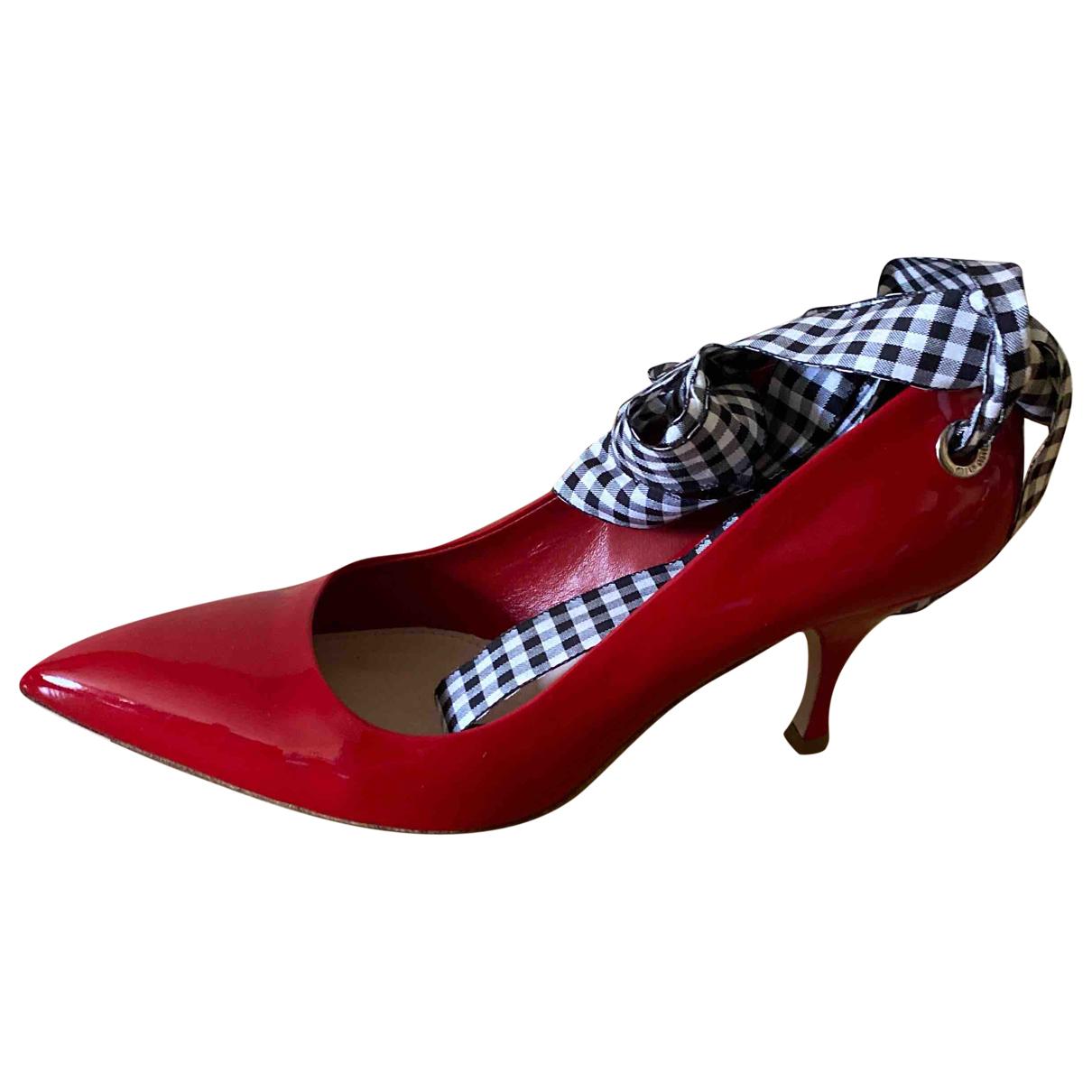 Miu Miu \N Red Patent leather Heels for Women 39.5 EU