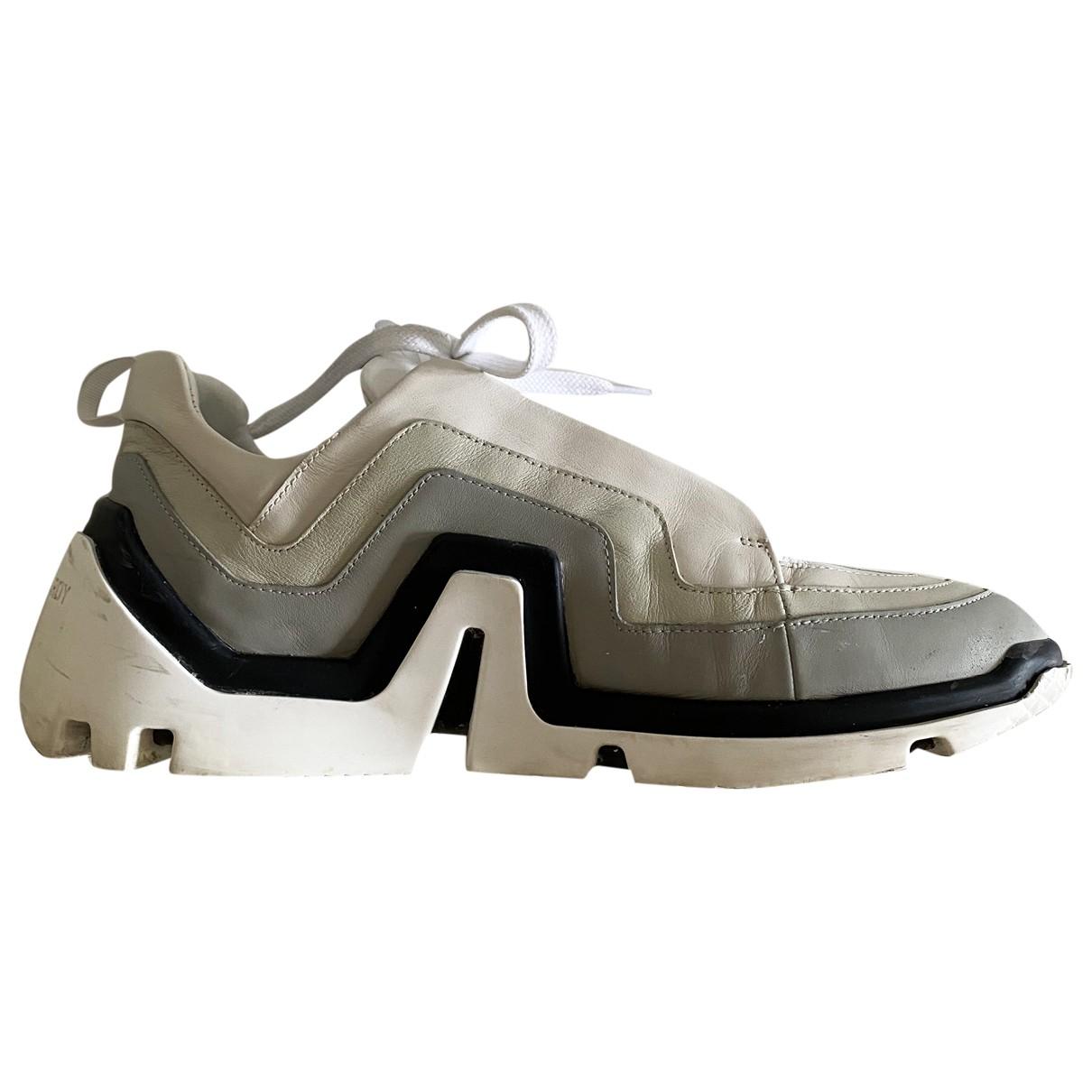 Pierre Hardy \N Sneakers in  Weiss Leder