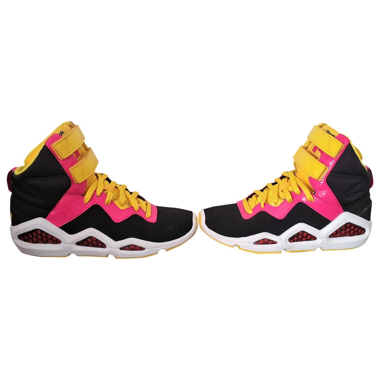 Reebok - Baskets   pour femme en suede - multicolore