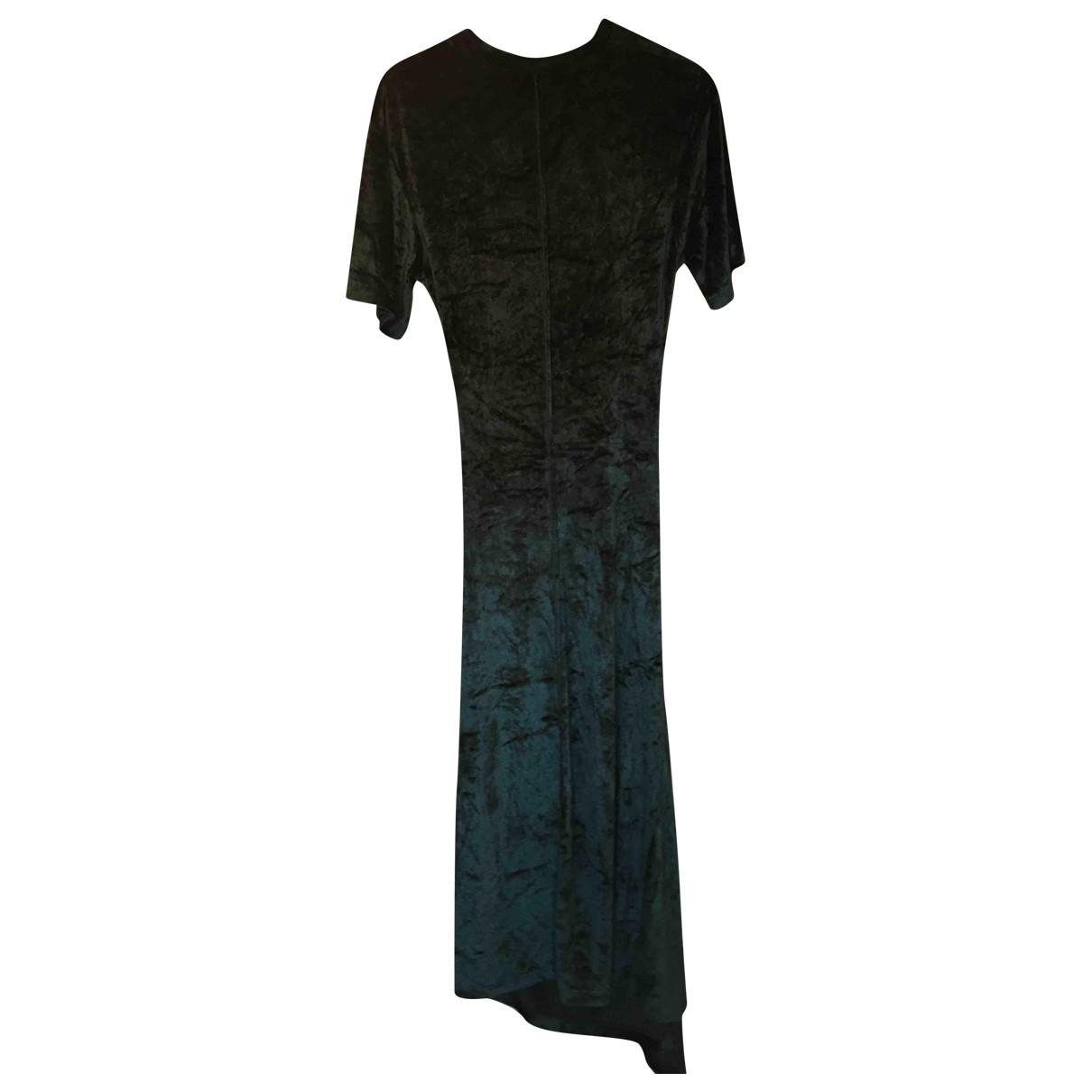 Kenzo \N Kleid in  Gruen Viskose