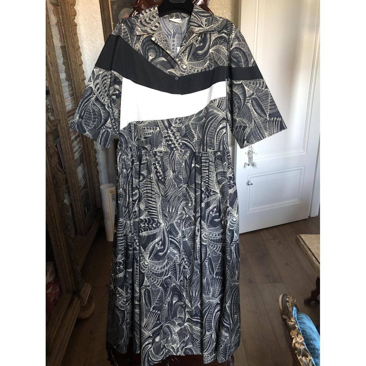 Dries Van Noten - Robe   pour femme en coton