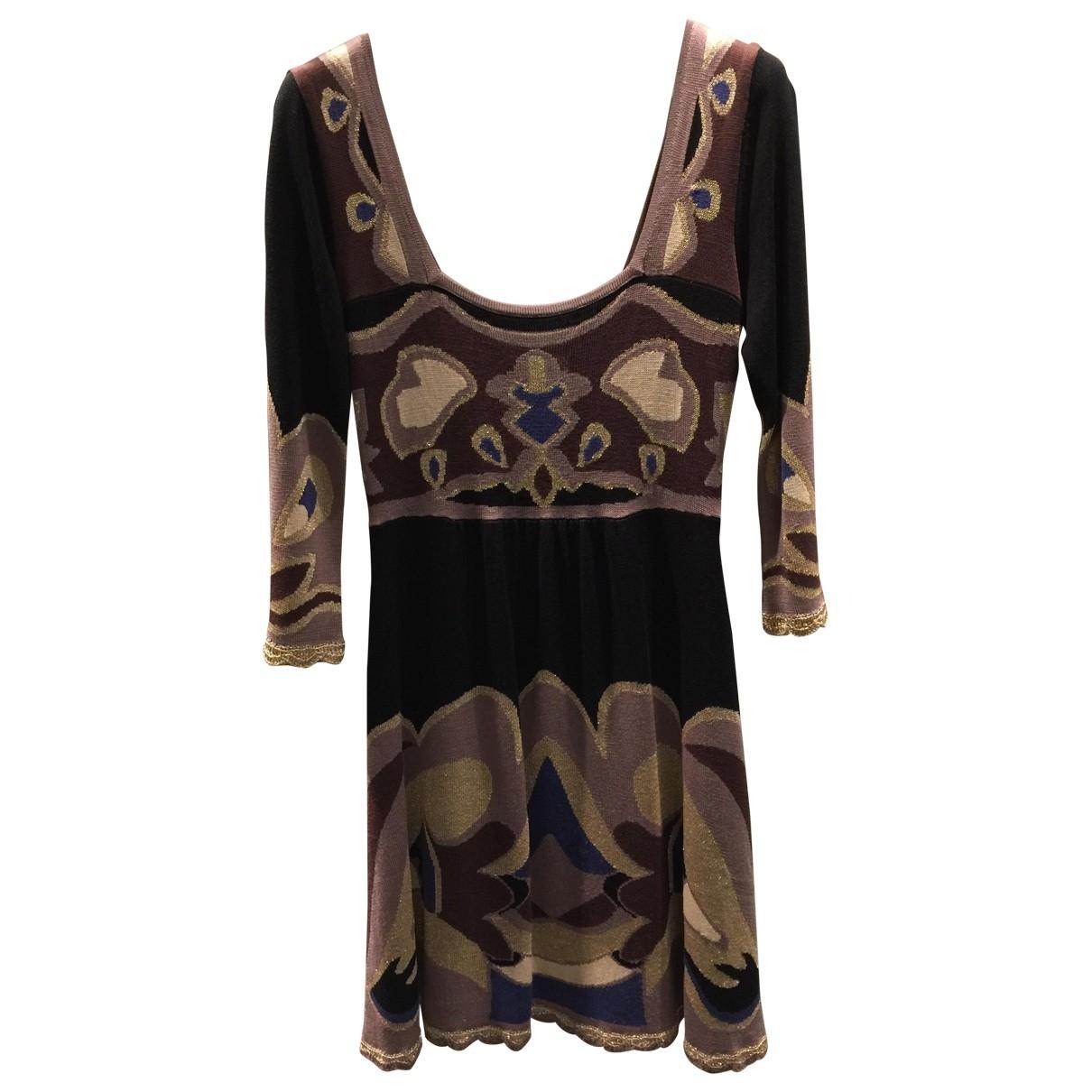 Temperley London - Robe   pour femme en soie - multicolore