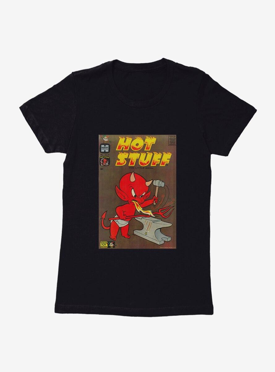 Hot Stuff The Little Devil Iron Forge Comic Cover Womens T-Shirt
